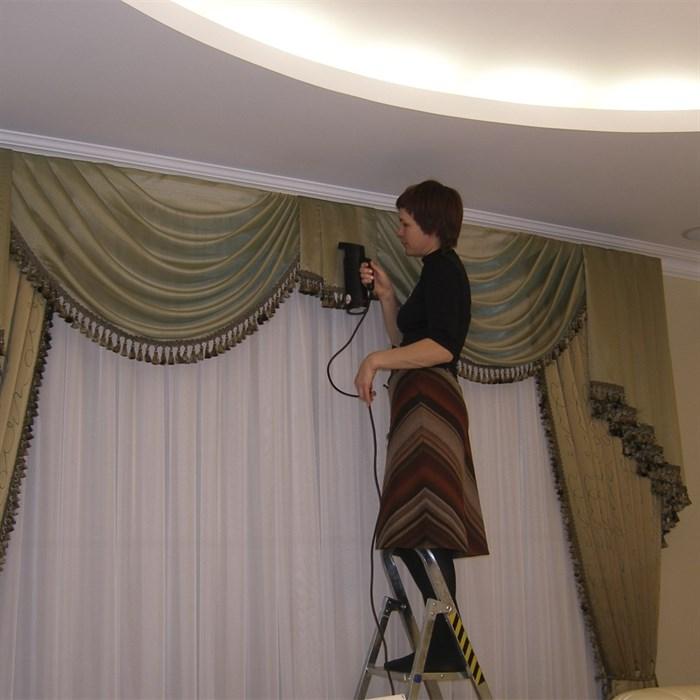 Навеска ламбрекена - фото 5969