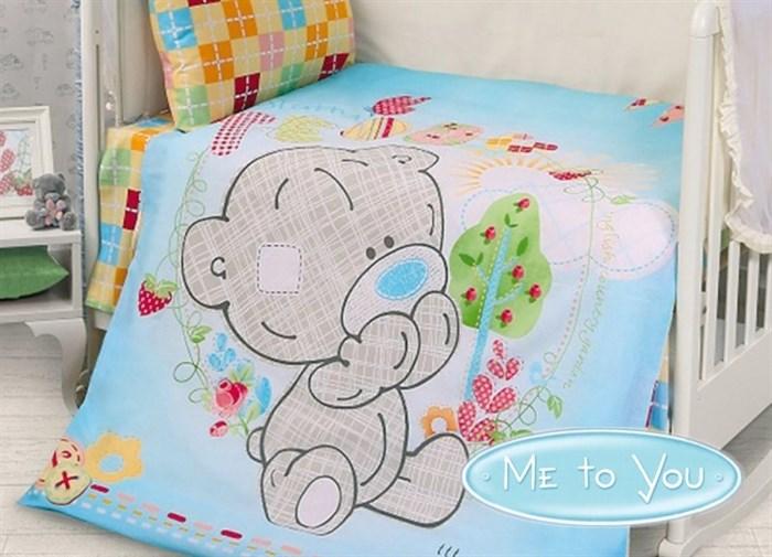 """КПБ """"Teddy Baby Boy"""" для новорожденных - фото 6528"""