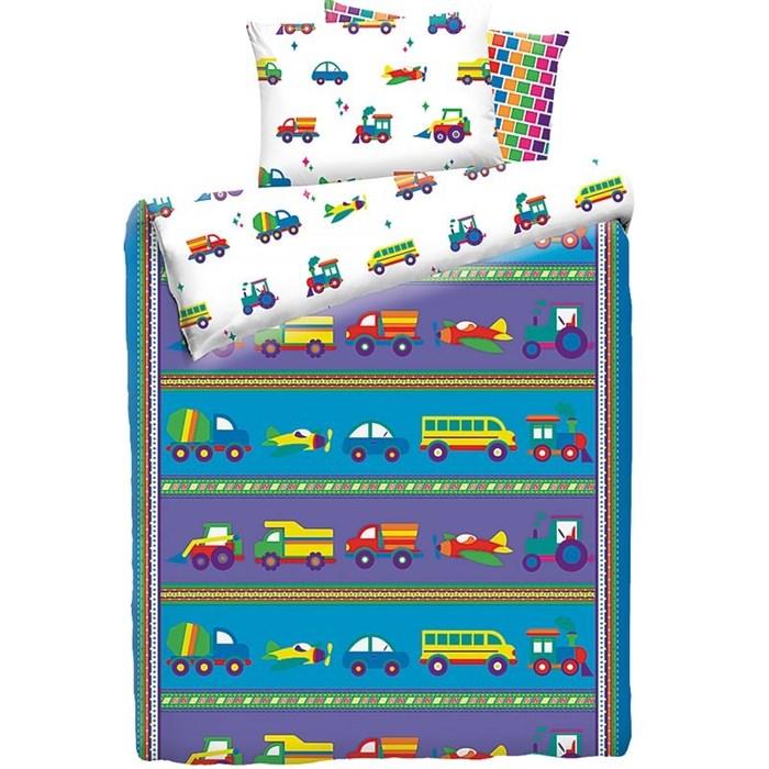 КПБ Машинки детский 1,5 сп - фото 7658