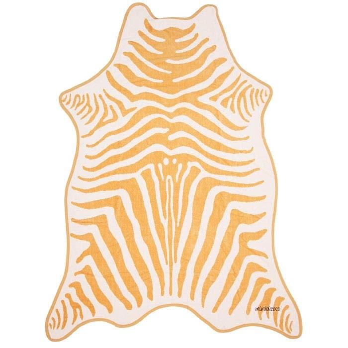Полотенце махровое ЗЕБРА БЕЖЕВАЯ (коллекция Animal Skin) - фото 7727