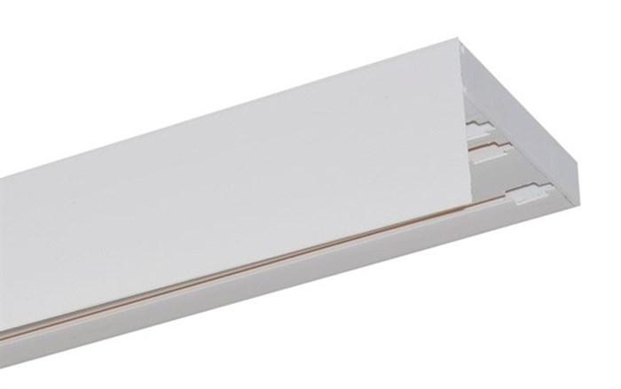 Карниз ПВХ усиленный МДФ 50 мм декоративная планка прямой - фото 8984