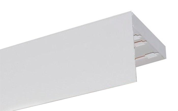 Карниз ПВХ усиленный МДФ 75 мм декоративная планка прямой - фото 9007