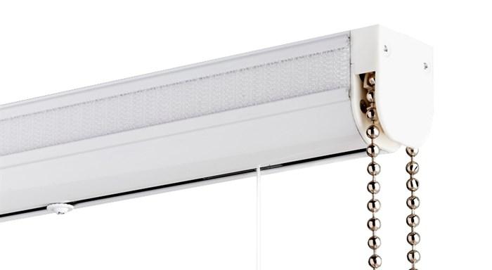 Карниз для римских штор Люкс с металлической цепочкой фото