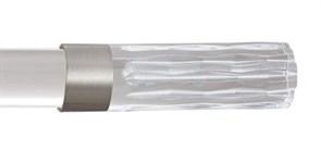 карниз однорядный mille kristall paula прозрачная акриловая штанга фото 1