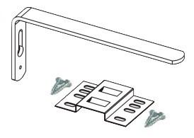 Кронштейн для пластиковой шины Decolux