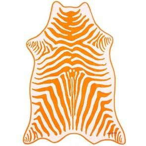 Полотенце махровое ЗЕБРА ОРАНЖЕВАЯ (коллекция Animal Skin)